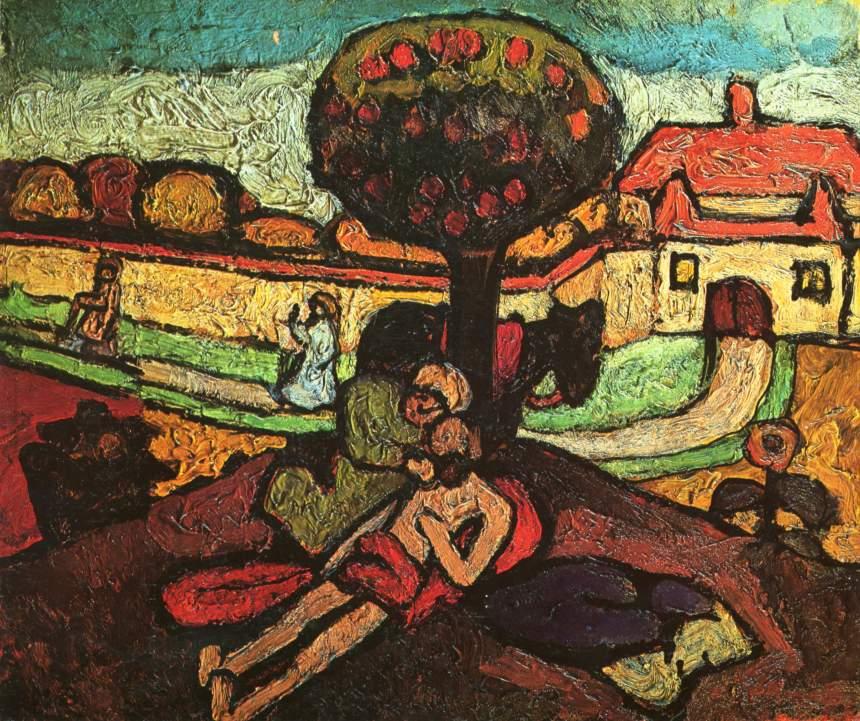 Paula Modersohn-Becker the-good-samaritan-1907